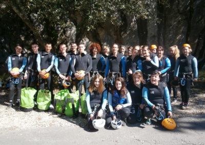 Ardèche Canyoning