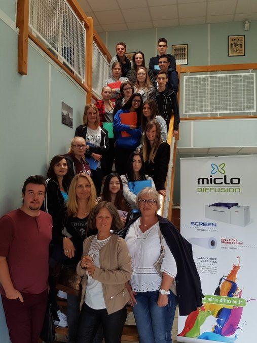 Visite de l'entreprise MICLO à Einville avec les 2GA