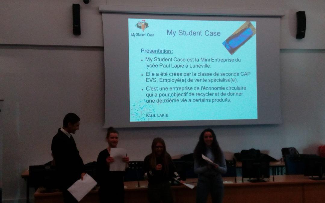 Présentation de la Mini entreprise «My Student Case»