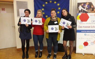 Remise des certificats Europass