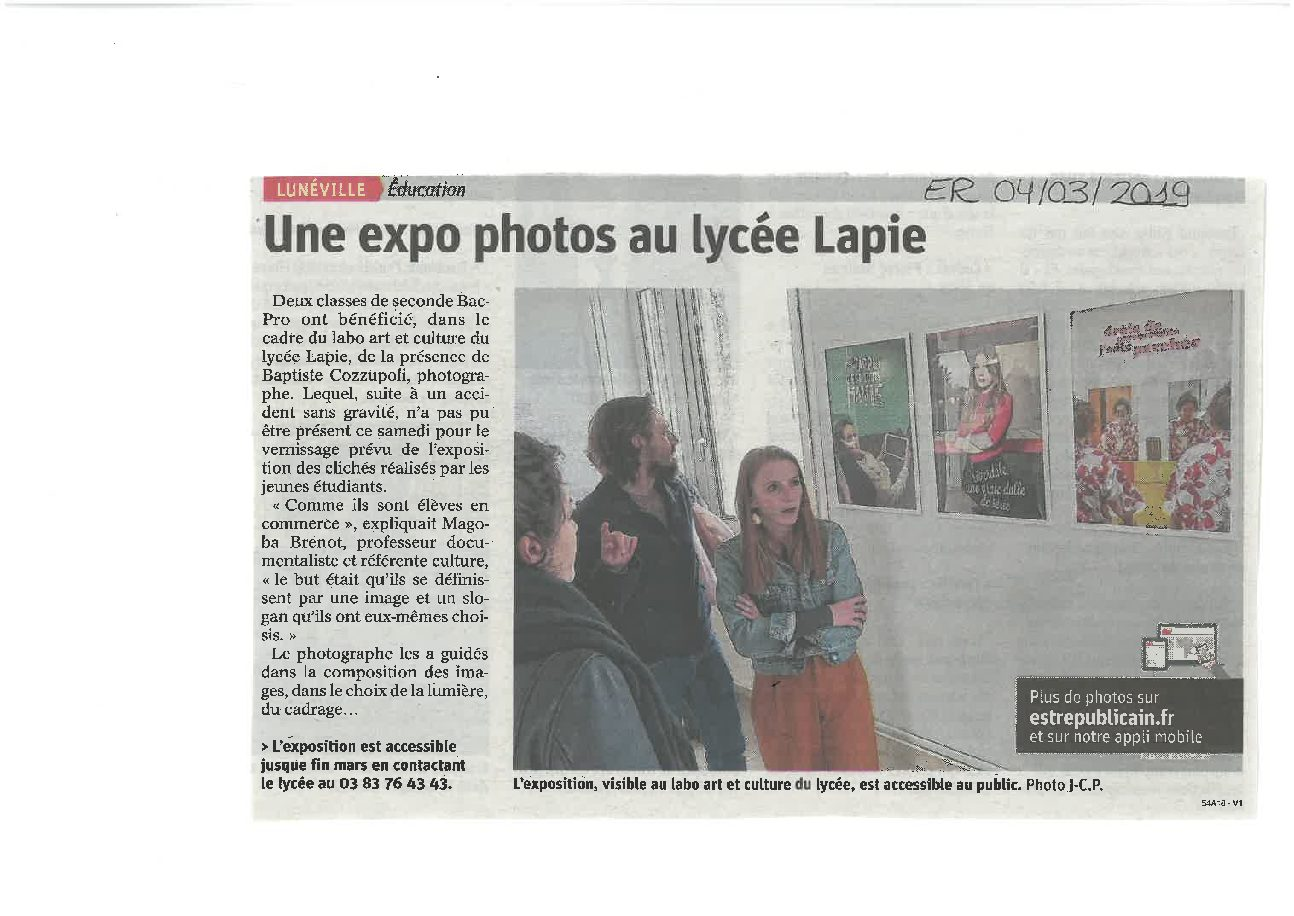 Expo photo « Je suis »