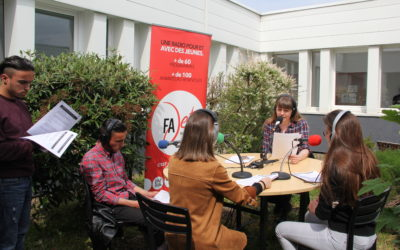 Émission sur radio Fajet