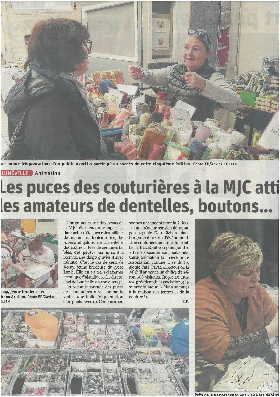 Salon «Les puces des couturières»