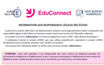 Plateforme EduConnect